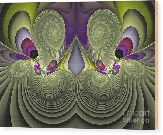 Circus - Surrealism Wood Print