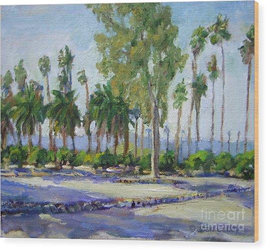 Citrus Park View Wood Print