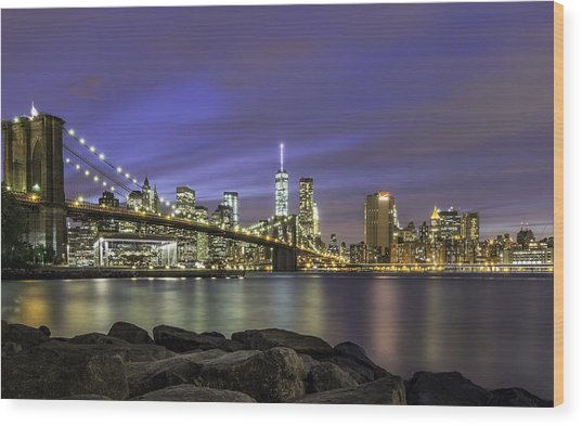 City 2 City Wood Print
