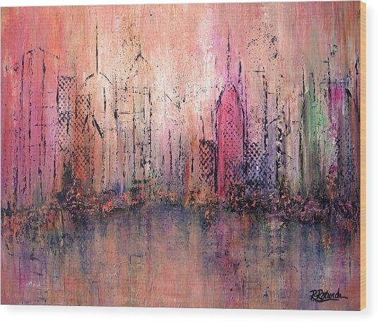 City Of Hope Wood Print