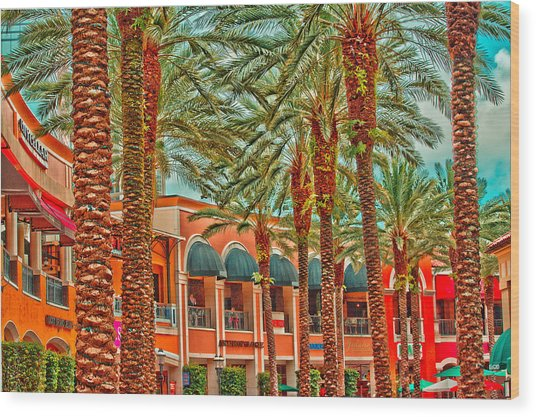 City Place Wood Print