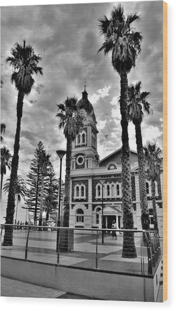 Civic Splendour - Glenelg Beach - Australia Wood Print