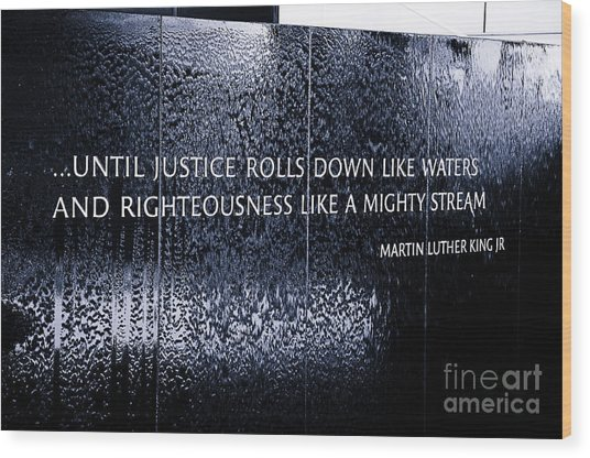 Civil Rights Memorial Wood Print