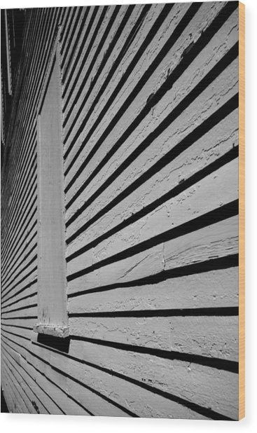 Clapboards Wood Print