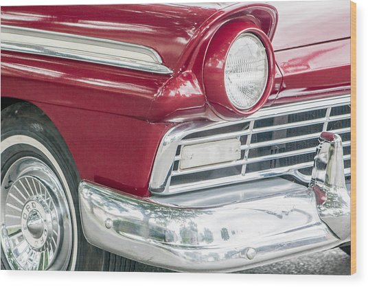 Classic 50s Style Wood Print