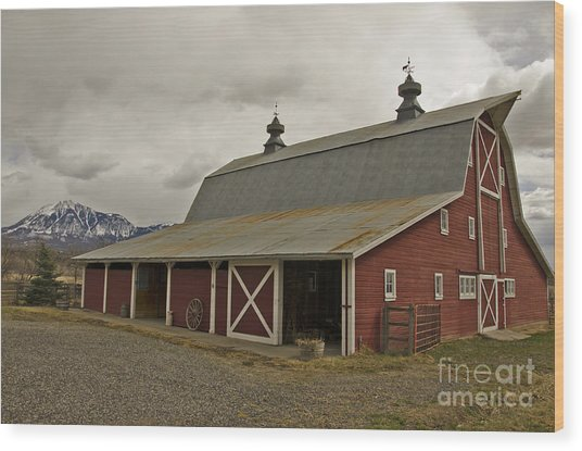Classic Colorado Country  Wood Print