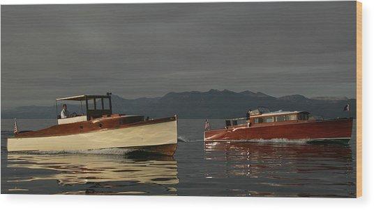 Lake Tahoe Classics Wood Print