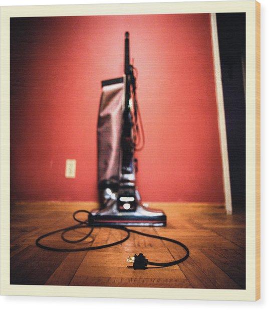 Classic Kirby Vacuum Wood Print