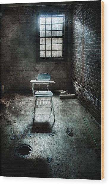 Wood Print featuring the photograph Classroom - School - Class For One by Gary Heller