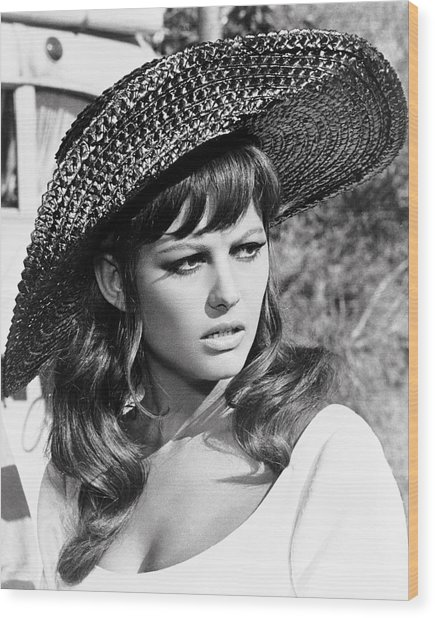 Claudia Cardinale In Don't Make Waves  Wood Print by Silver Screen