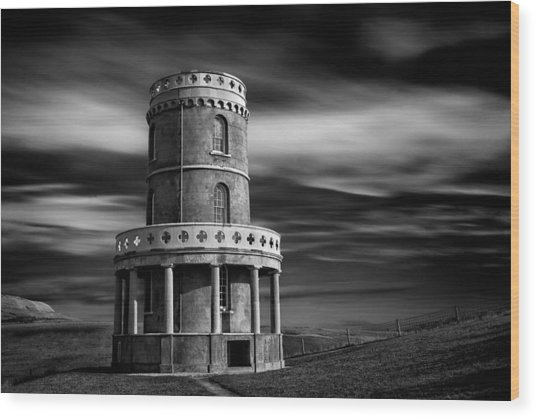 Clavell Tower Wood Print