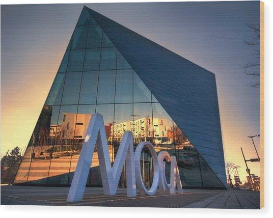 Cleveland Museum Of Modern Art Wood Print