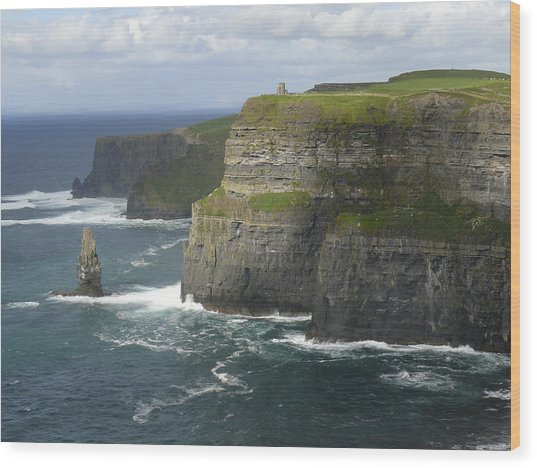 Cliffs Of Moher 2 Wood Print