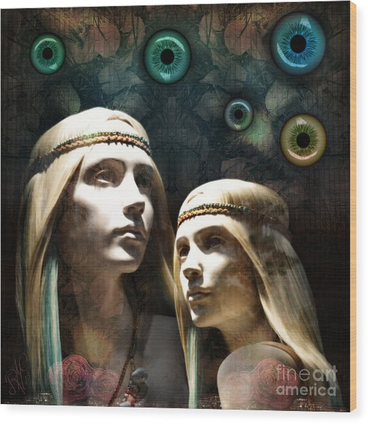 Cloned Dreams Wood Print