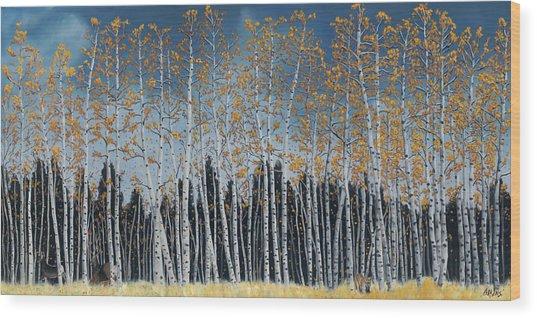 Close Call Wood Print by Jack Atkins