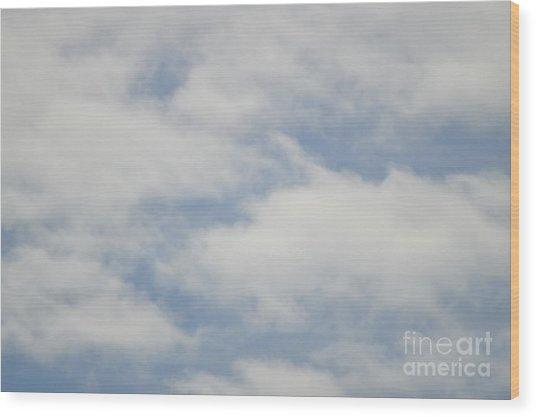 Cloud 9 Wood Print by Sheldon Blackwell