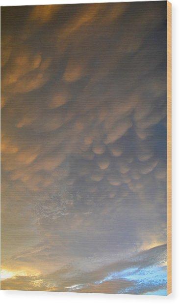Cloud Ceiling 3  Wood Print