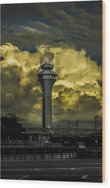 Cloud Control Wood Print