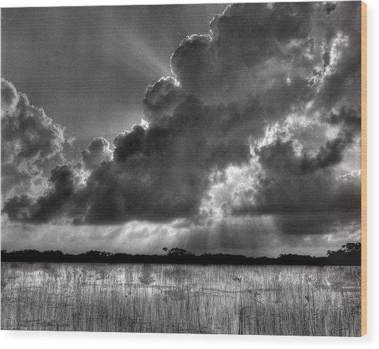 Cloud Nine Wood Print