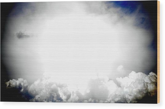 Cloudburst Sky Celestial Cloud Art Xl Resolution Wood Print