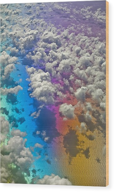 Clouds #2 Wood Print