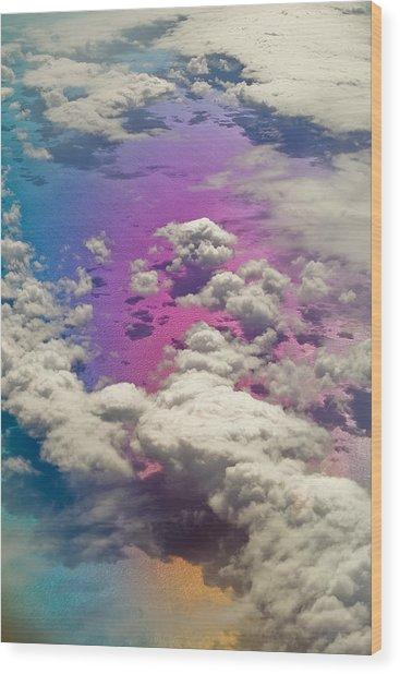Clouds #3 Wood Print