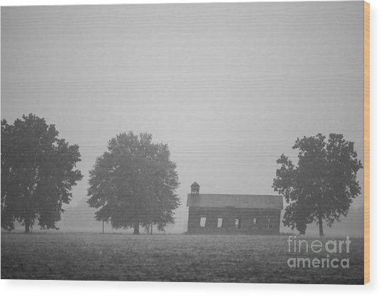 Cme Church At Mont Helena Plantation Wood Print