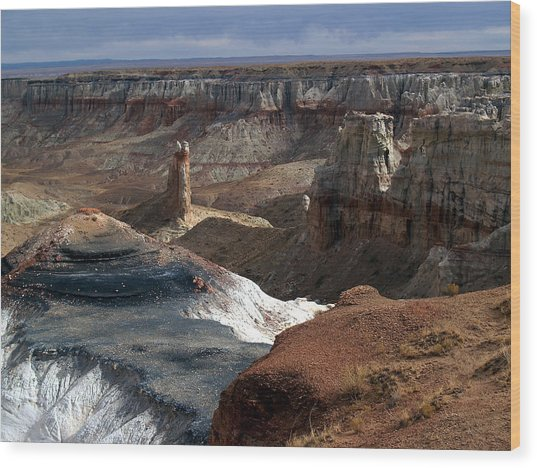 Coal Mine Mesa 09 Wood Print