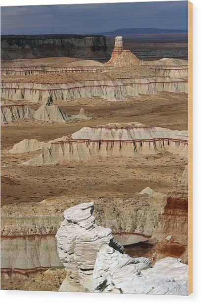 Coal Mine Mesa 19 Wood Print
