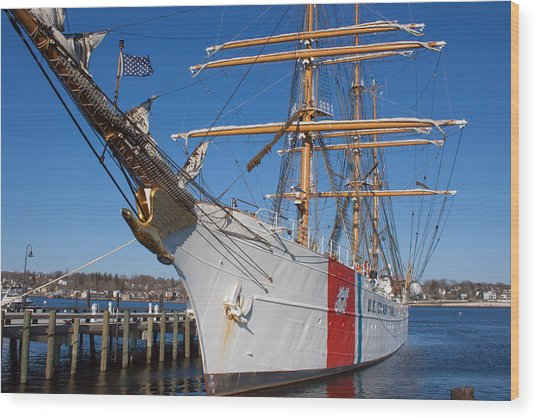 Coast Guard Cutter Eagle Wood Print