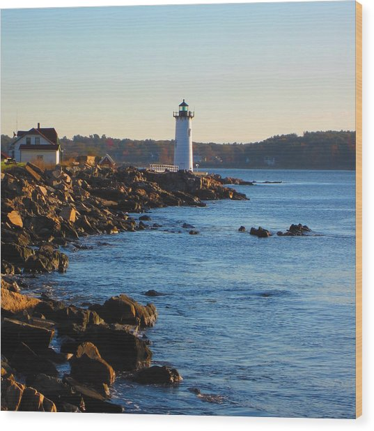 Coast Guard New Castle Nh Wood Print