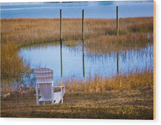 Coastal Leisure Wood Print