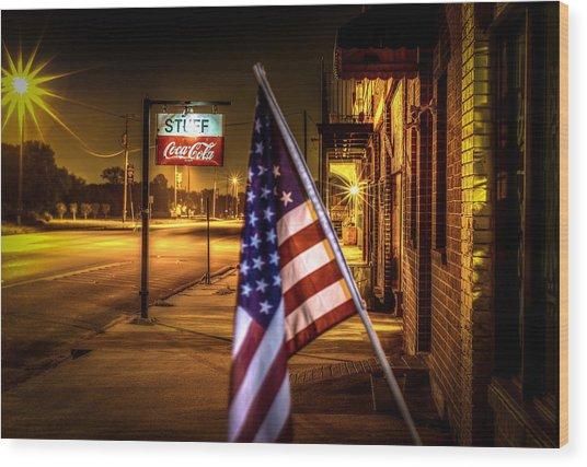 Coca-cola And America Wood Print
