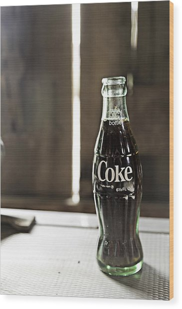Wood Print featuring the photograph Coca-cola Bottle Return For Refund 8 by James Sage