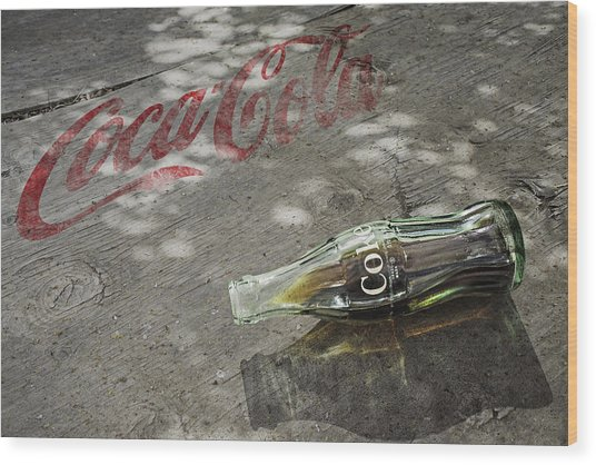 Wood Print featuring the photograph Coca-cola Loved All Over The World 6 by James Sage