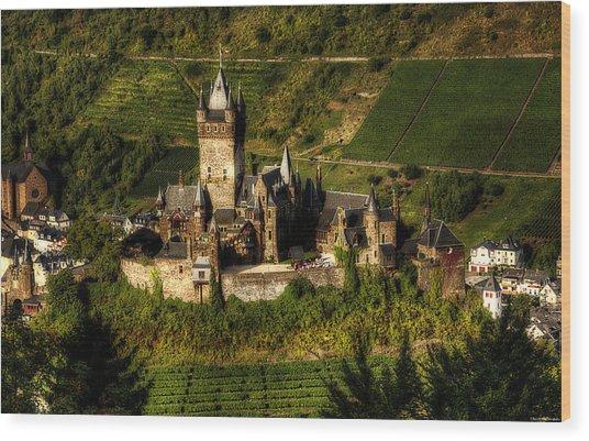 Cochem Castle Wood Print