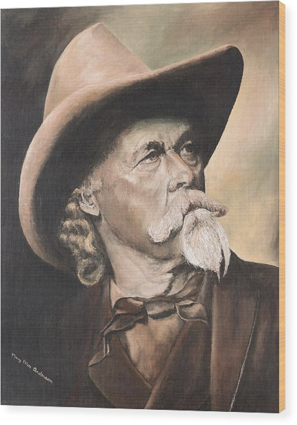 Cody - Western Gentleman Wood Print