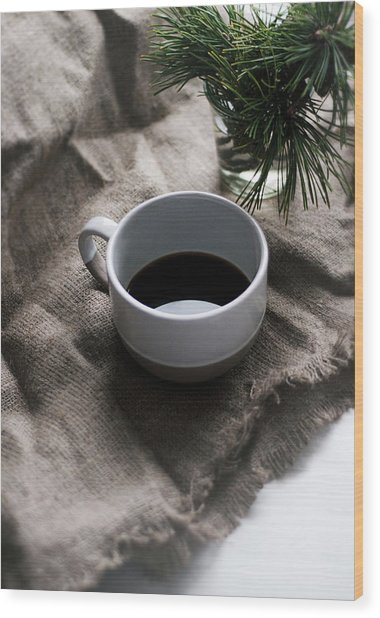 Coffee And Pine Wood Print