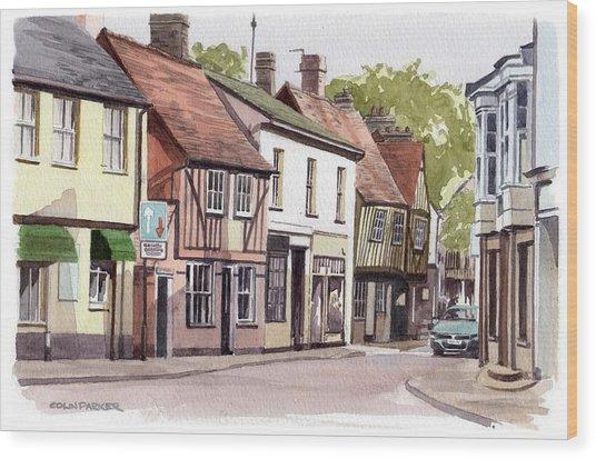 Coggeshall Wood Print