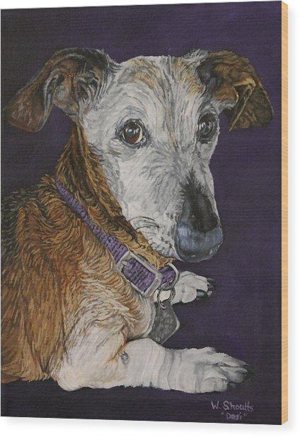 Colbi Wood Print