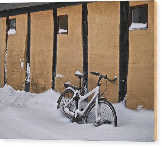 Cold Storage Wood Print by Odd Jeppesen