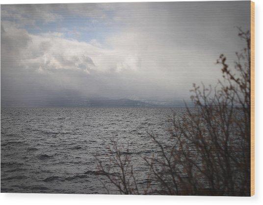 Cold Tahoe Wood Print