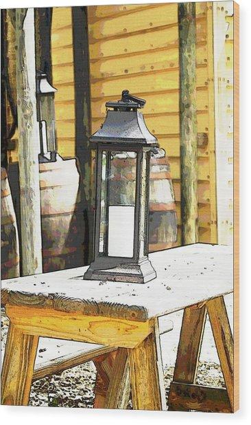 Colonial Light Wood Print