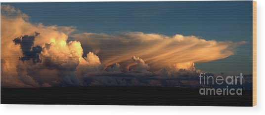 Color Cloud Nm  Wood Print