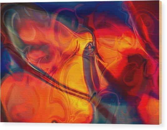 Color Conception Wood Print