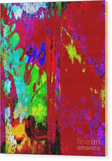 Color Experiment Wood Print