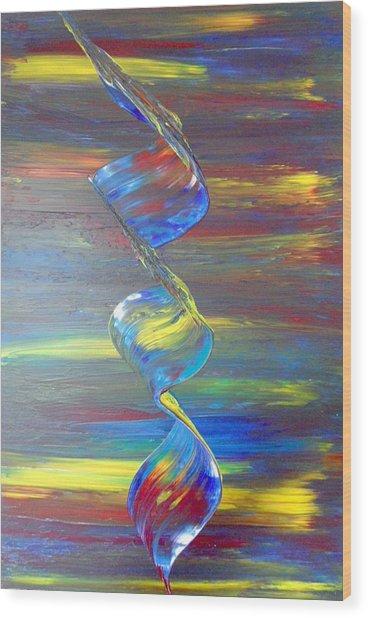 Color Wood Print by Nico Bielow