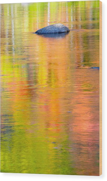 Color Reflections-1 Wood Print