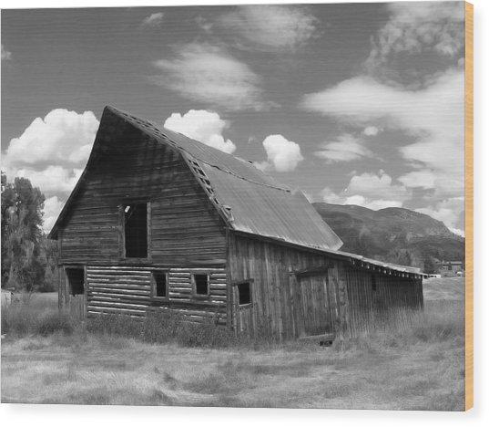 Colorado Barn Wood Print