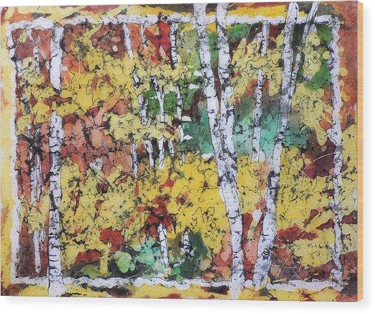 Colorado Batik Wood Print